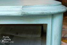 Furniture Redo Ideas / by Melissa Goodwin
