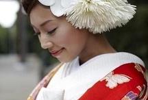 和装のヘッドドレス