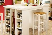 Craft Rooms: Storage Table