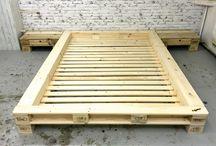 pallet bed frame full