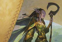 Art of Geek / Gaming, RPG, comics, scifi and fantasy art
