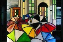 glass people/houses etc