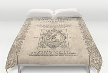 Biblio Linen / Literarature lovers household linen