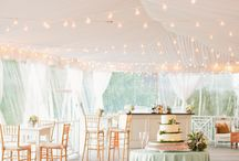 Marquee Event Magic! / Whatever the celebration we have pinned some pretty ideas to help inspire you on how to decorate and light the place.