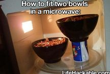 LIFE HACKS!!!!!! / by Kristin Thumstedter