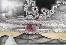 Bali mural