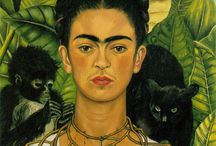 frida kahlo / love frida's works and her style