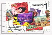 Postcrossing stamps / Postcrossing stamps from all around the world.