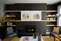 fireplace furniture