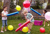 beweging met kinderen  / kinderen moeten kunnen bewegen daarom leuke spelletjes enzo.