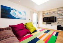 Boys Den TV Room Design