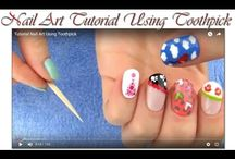 Nail Art Tutorial / Everyone loves beautiful nail art, but it makes it that much sweeter when you can achieve the look with a DIY Kit. Check out these awesome nail art tutorials..