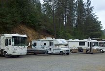 Our RV Sites / Full hook ups ~ water ~ sewer and electric !   RV Sites  accomodate up to a 40' RV  Picnic Table and Charcoal Grill provided  All sites on pavement