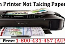 Call 1-800-431-457 to Fix Canon Printer Not Taking Paper Error