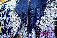 Street art magic
