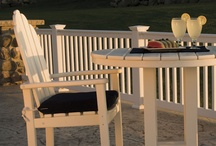 Dining outdoor / Polywood intelligent design