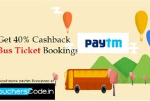 Bus Ticket Deals / Checkout latest coupons and deals on online bus ticket.