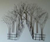 Metalen wanddecoratie wanddecoraties op pinterest - Decoratie schilderij gang ...