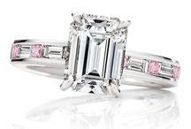 Diamonds Only / Gorgeous, gorgeous diamonds... in all colours / by Estelle de Falstelo
