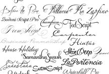 fonts/downloads/graphic design / by Mellisa St. Amant
