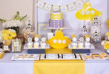 Yellow Party Ideas | Party Supplies / Add some colour to the party with our Yellow Partyware ideas and decorate your venue in style with these Fabulous Party Supplies. Let your imagination reign supreme and come up with some crazy colour combos. Solid Colours serve to accentuate your party theme and are easy on your pocket as well. With solid colours you can never go wrong.
