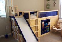 Pokój dla dzieci / Pomysły dla wspólnego pokoju dla chłopca i dziewczynki