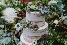 torta con piante grasse