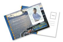 Funeral Announcements / Funeral announcements post cards can be mailed out used as an invitations, arrangements or announcement for funerals, graduations, or other memorable occasions.