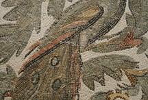 mosaics and wall paintings