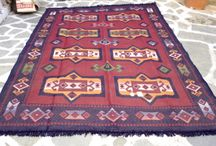Cotton kilims/rugs
