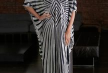 stripe resort wear