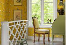 Keittiö / Keltaiseen iloiseen keittiöön linnunlaulua