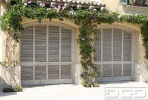 Lovely garage doors  / by Tara Giannini