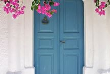 puertas y tachadas