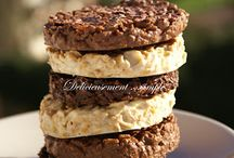 Gâteau trois sortes de chocolat/cornflakes