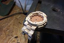 Wooden land / Czech wooden watch