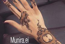 Henna patterns