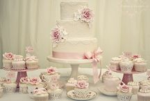 tortas vintages y románticas