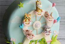 Barn tårtor / Cake decorating
