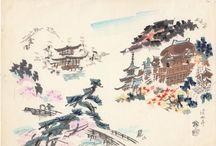 Arte Japones / Pinturas representativas del país oriental.