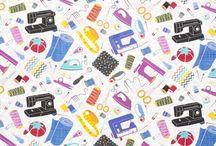Fabrics with Original prints