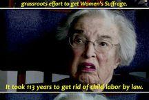 My feminist views