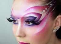 Theatrical makeup  / by Madzie Boyles