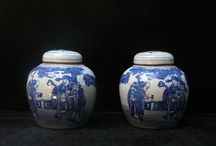 """Blue and White Ginger Jars / """"Blue and White Ginger Jars"""" Blue and White Porcelain Ideas, By InStyle-Decor.com Over 3,500 Inspirations Now Online, Designer Furniture, Wall Mirrors, Lighting, Decorative Objects, Accessories & Accents. Professional Interior Design Solutions For Interior Architects, Interior Specifiers, Interior Designers, Interior Decorators, Hospitality, Commercial, Maritime & Residential Projects. Locations: Beverly Hills New York & London Global Inquiries Welcome Enjoy"""