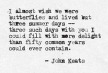 Poetry of John Keats