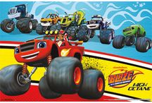 Blaze & The Monster Machines / Here are some ideas for a Blaze Theme Party! REVV up your Engines this is going to be a fun one?