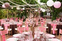 Rózsaszín-barna esküvő - Pink and Brown Weddings