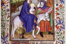 Carnet d'inspiration : miniatures médiévales