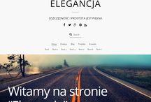 """Website """"Elegance"""" for SELL"""