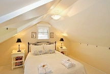 small attic bedroom / by Judy Cowling